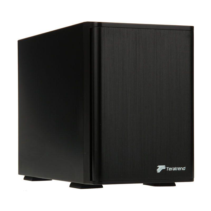 SILVERSTONE SST-TS431U UK 4 BAY 3.5'' HDD TOWER USB 3.0 AND ESATA INTERFACE - BLACK