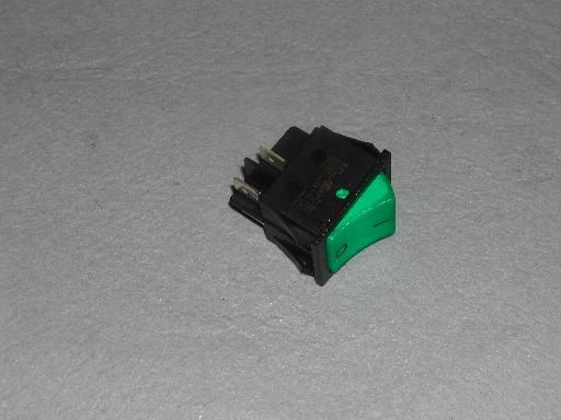 Rocker Switch: Double: Green SW15