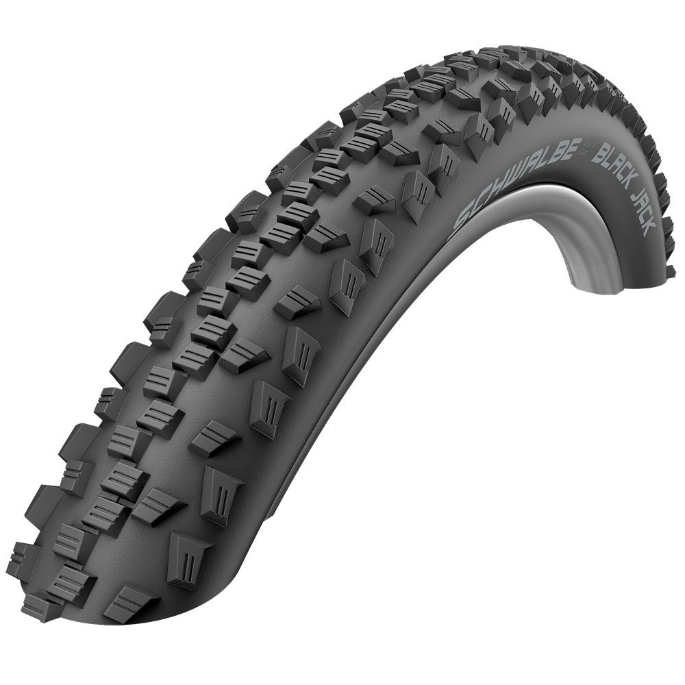 SCHWALBE BLACK JACK K-GUARD 26X1.90 BLK