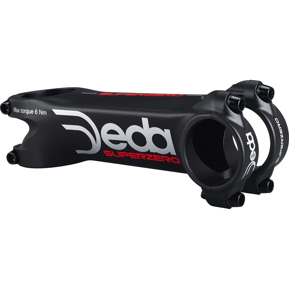 DEDA ELEMENTI SUPERZERO STEM 31.7 BLACK 110MM