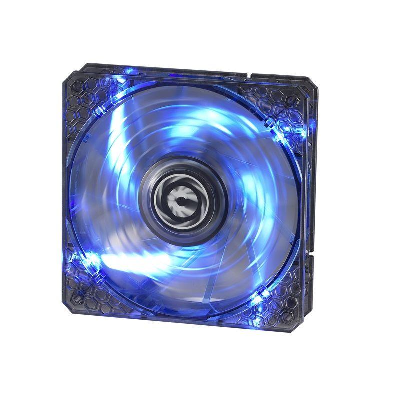 BITFENIX SPECTRE PRO 120MM FAN BLUE LED - BLACK