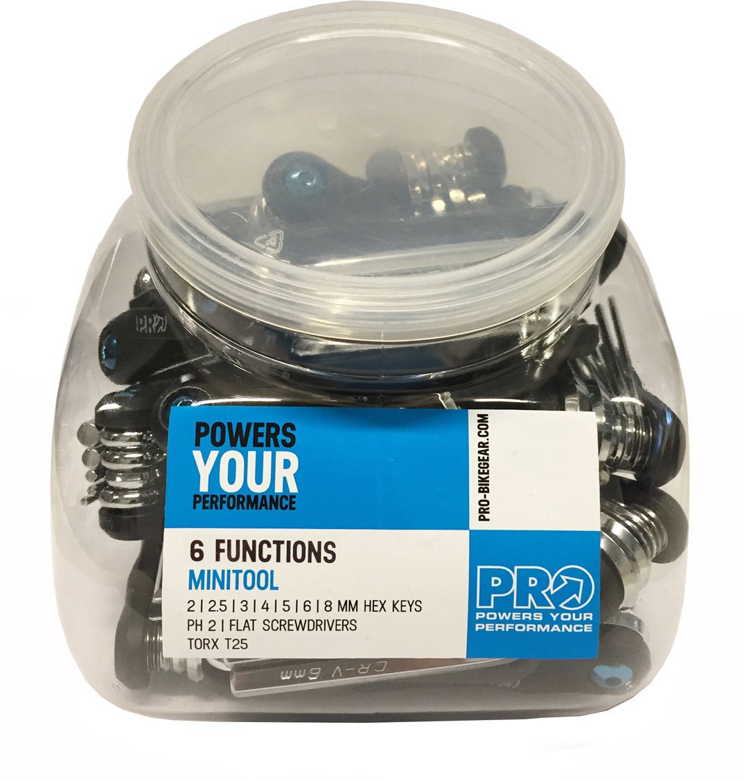 PRO TOOL PRO MINI TOOL RESIN 6 JAR 30