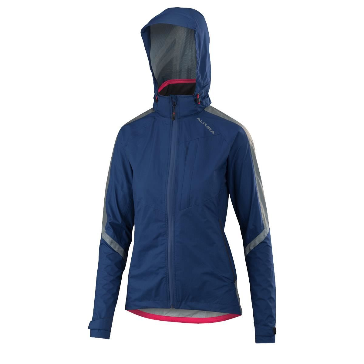 Altura Womens Nightvision Cyclone Jacket 2018: Blue 10