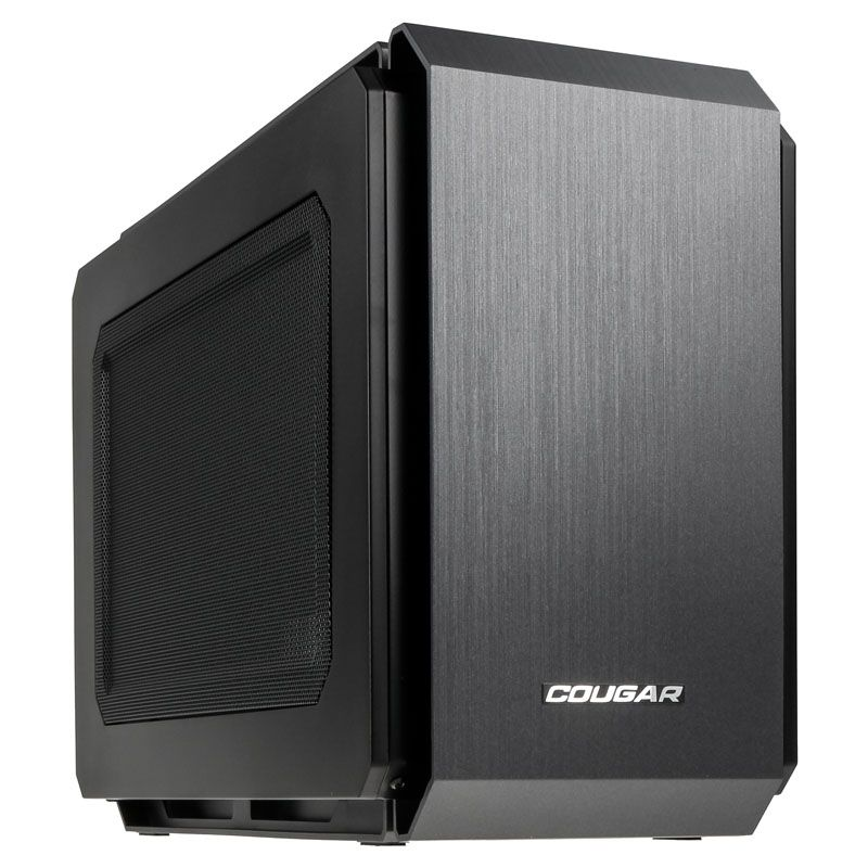 COUGAR QBX MINI-ITX CUBE CHASSIS - BLACK