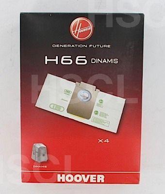 Vacuum Cleaner Bags: Hoover Dynamis H66