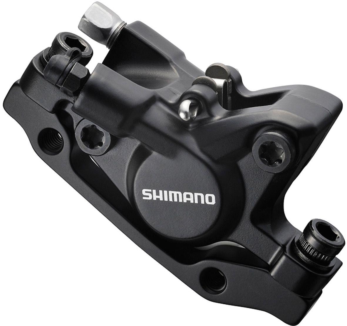 SHIMANO DEORE D/BRAKE M446 CALIP FR OR RR BK BLACK BRM446FRL