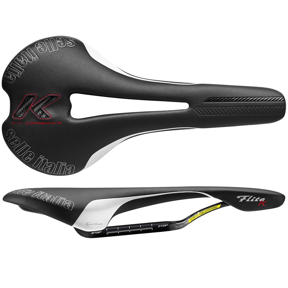 SELLE ITALIA FLITE KIT CARBONIO FLOW BLK (L2)