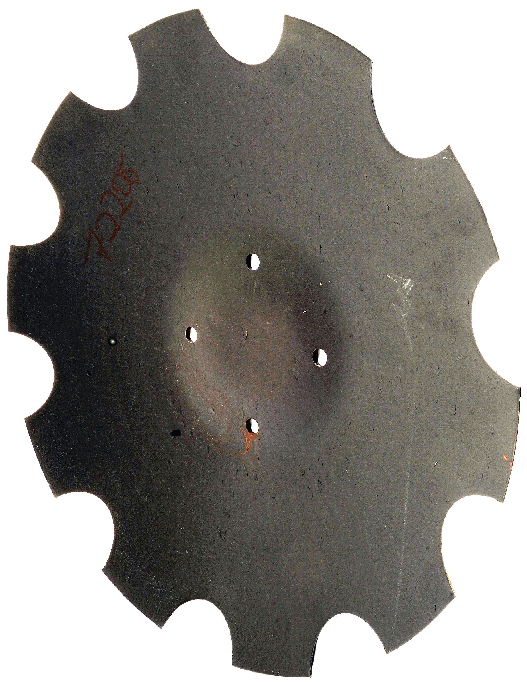 AMAZONE DISC-460X4MM NOTCHED INT.120MM