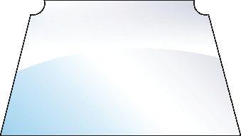CASE IH GLASS-WINDSCREEN 100524