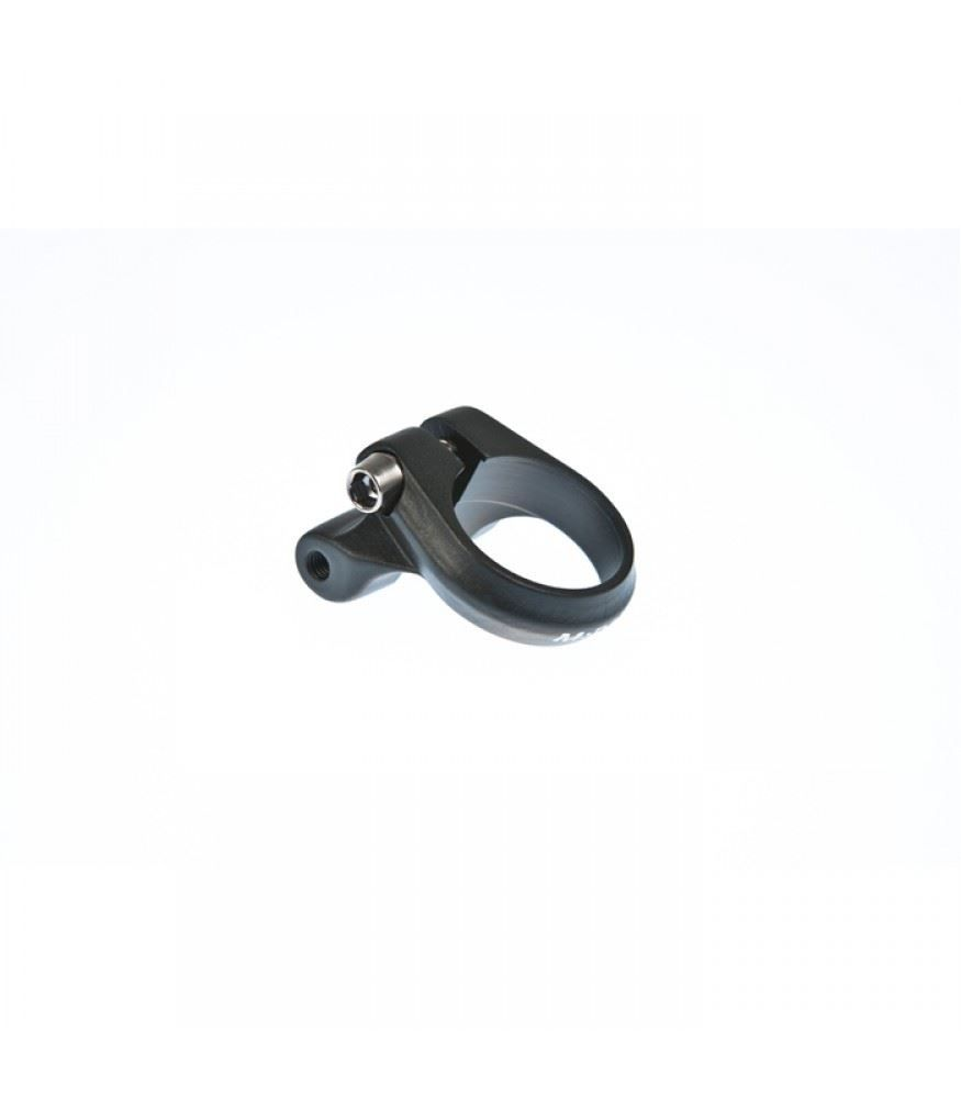M Part Seat clamp with rack mount 29.8mm black