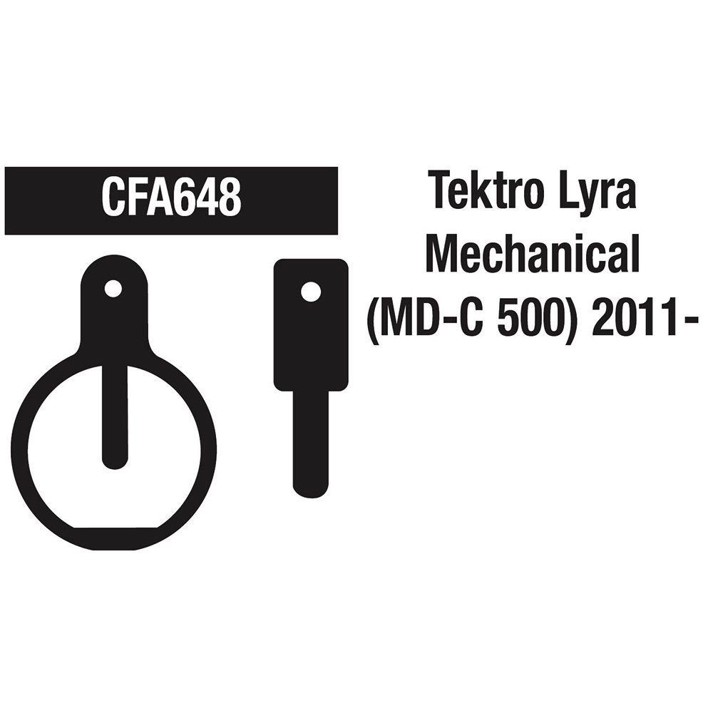 EBC TEKTRO LYRA MECHANICAL (MD-C500) GREEN FA648