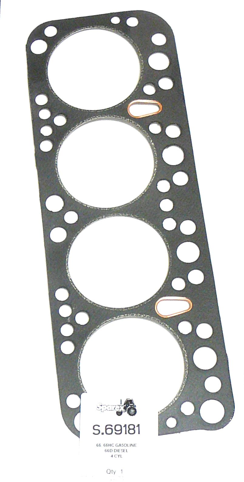 WHITE OLIVER HEAD GASKET