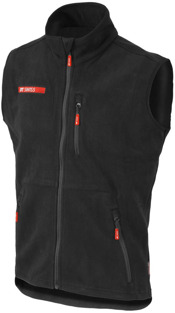 DT SWISS VEST DT FLEECE BLACK XL BLACK DTVEST16XL