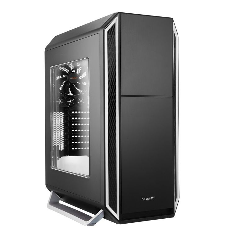 BE QUIET! SILENT BASE 800 MIDI TOWER CASE - SILVER WINDOW BGW03