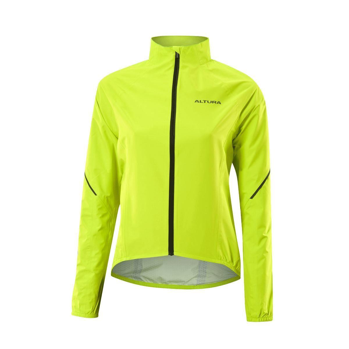 Altura Womens Flite 2 Waterproof Jacket 2017: Hi-Viz Yellow 8