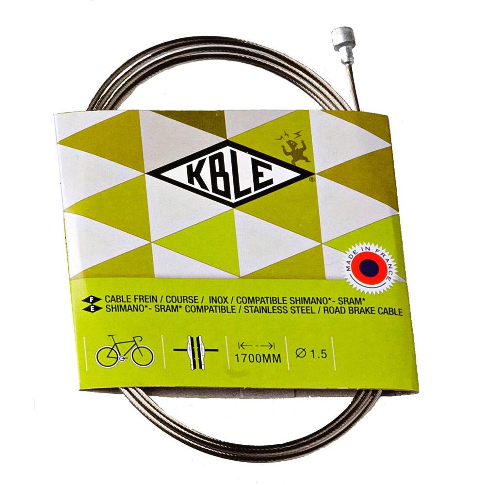 TRANSFIL TANDEM ROAD BRAKE WIRE 250CM KB35