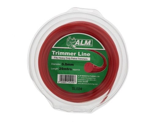 Trimmer Line: 3.0mm 28m Red Round Cutting Line