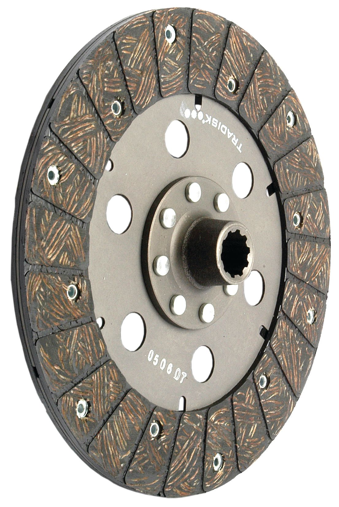 LONG TRACTOR CLUTCH PLATE 250MM