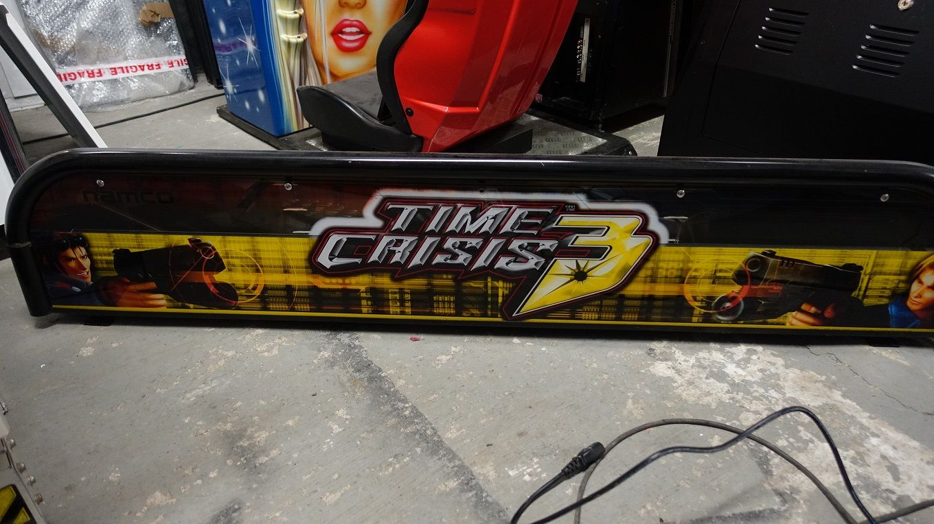 TIME CRISIS 3 MARQUEE TIMECRISIS3MARQUEE