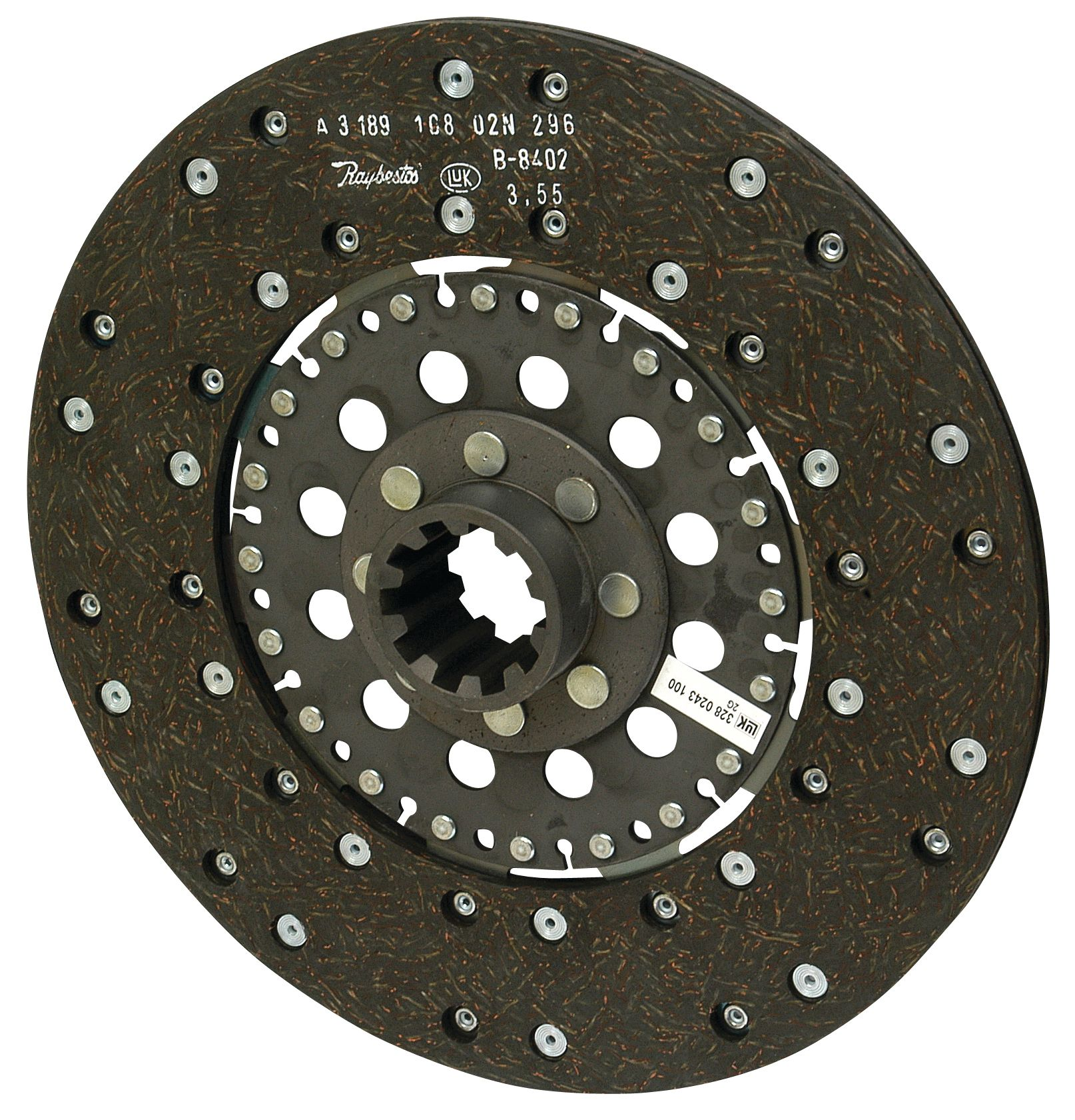 "DAVID BROWN CLUTCH PLATE MAIN 11"" 19647"