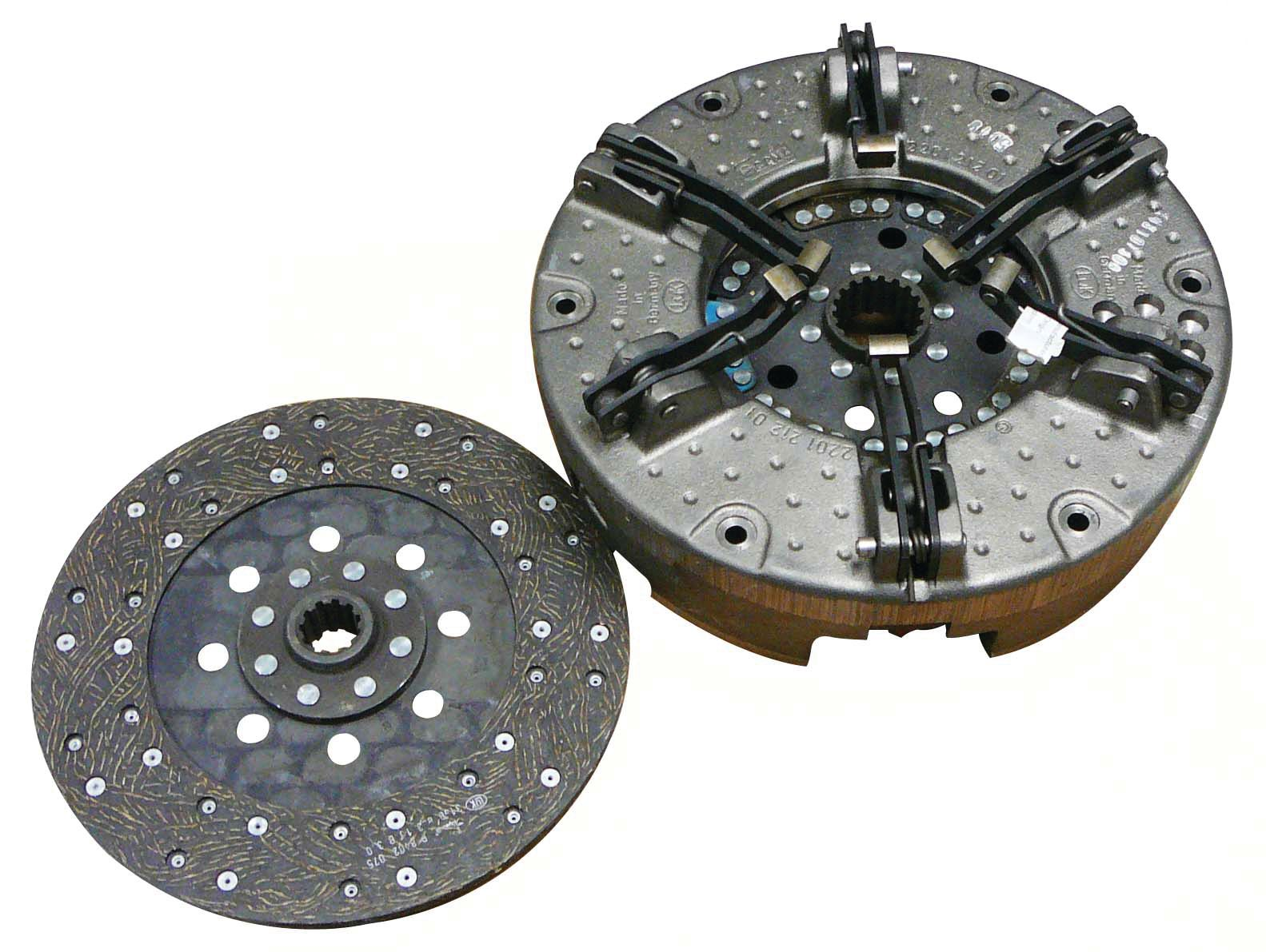 LONG TRACTOR CLUTCH KIT WITHOUT BEARINGS