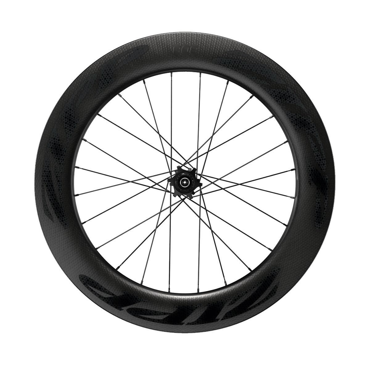Zipp 808 Carbon Tubeless Disc Brake 6-Bolt 700C 177D Convertible-Quick Release & 12X142Mm Through Axle A1: Black Decal 700C Campagnolo