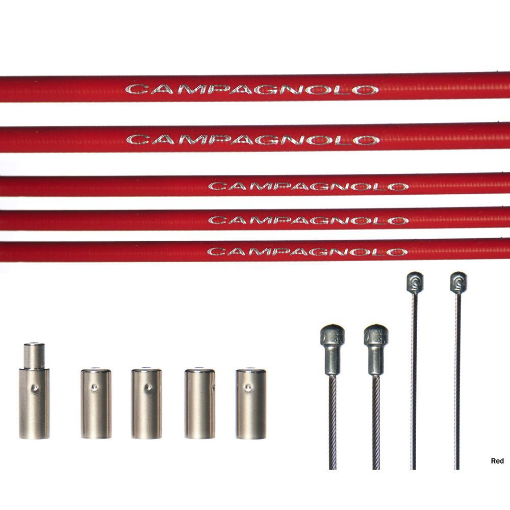 CAMPAGNOLO ULTRA/POWER-SHIFT CABLESET RED CPS10AR