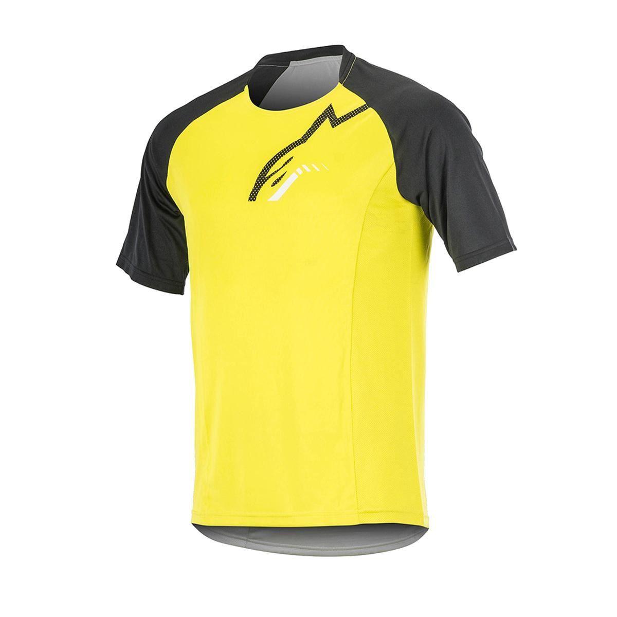 Alpinestars Trailstar Short Sleeve Jersey 2017: Acid Yellow/Black 2Xl
