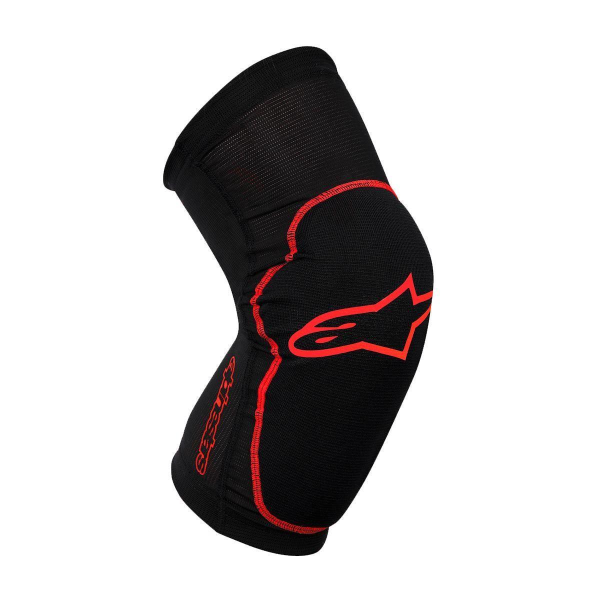 Alpinestars Protection Paragon Knee Guard 2017: Black/Red L
