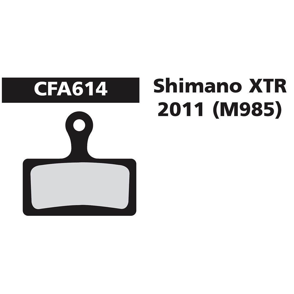 EBC SHIMANO XTR 985 GREEN FA614