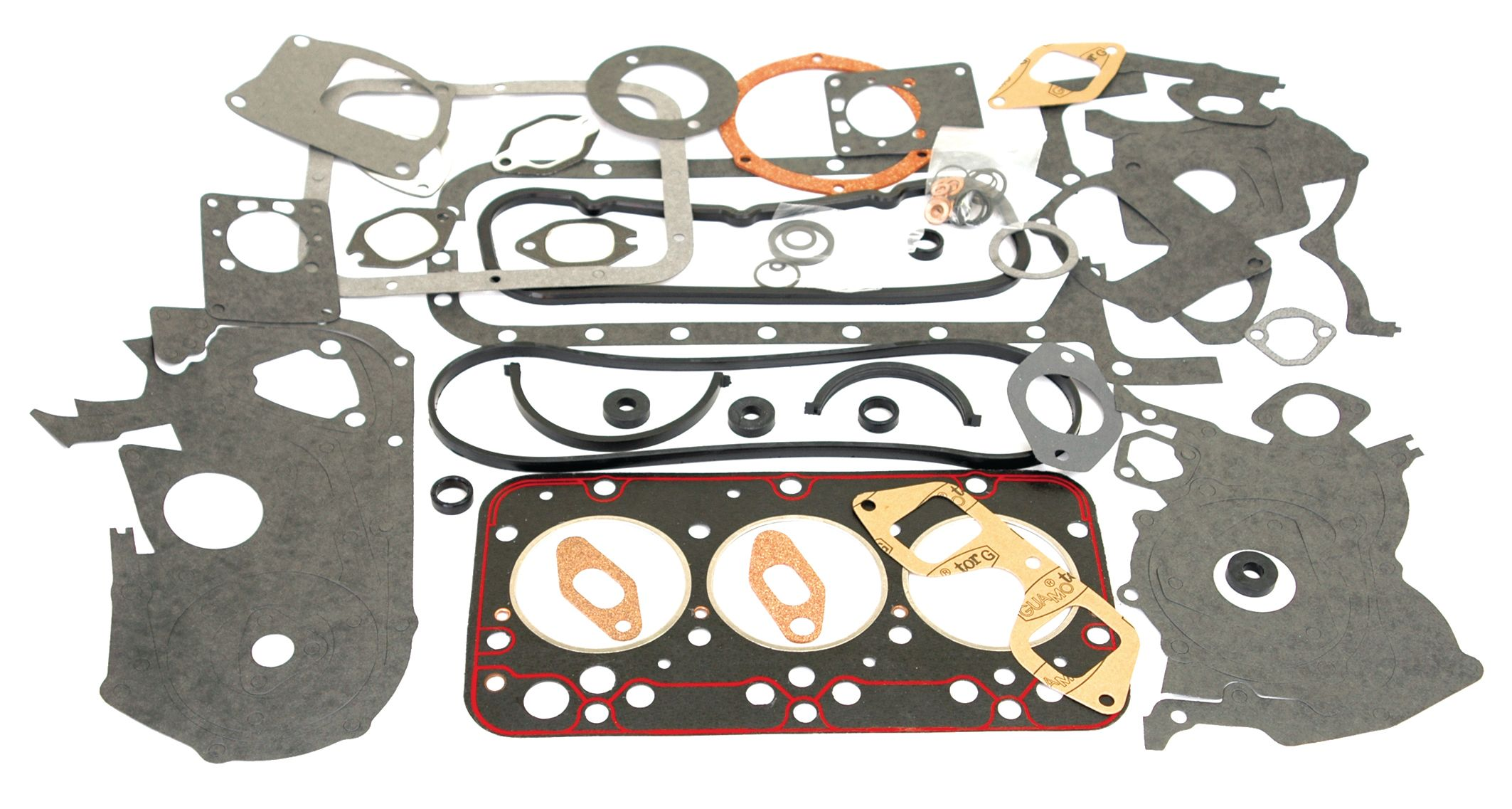 LONG TRACTOR GASKET SET-FULL W/O SEALS 62078