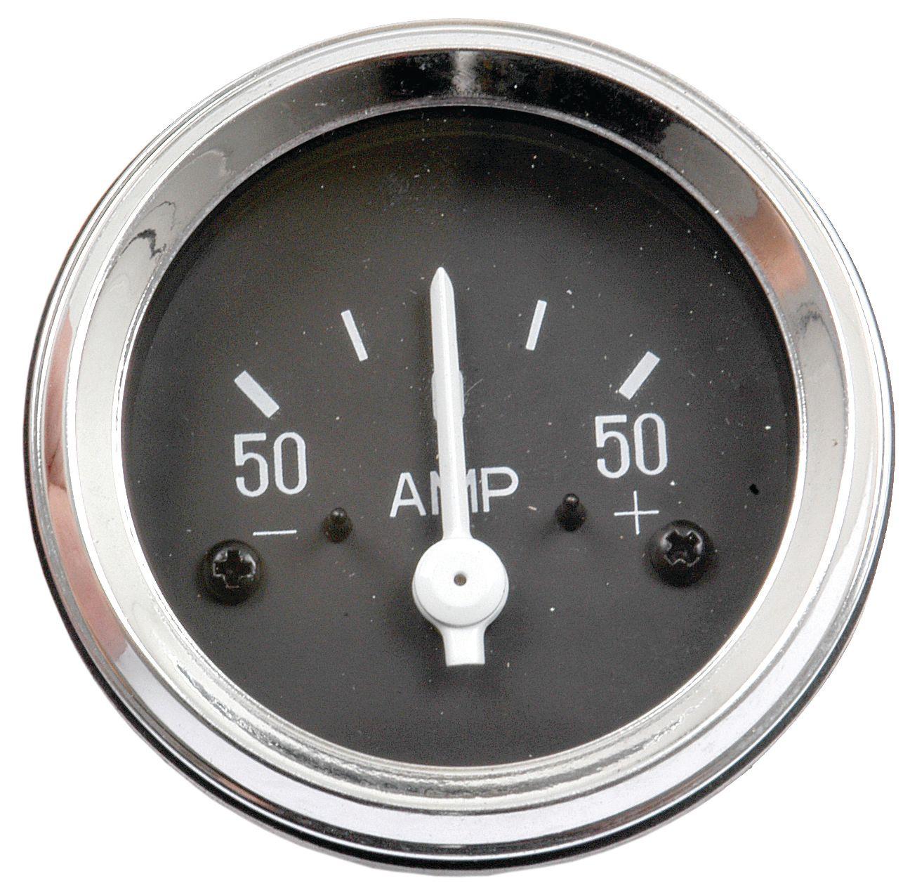 FORD NEW HOLLAND GAUGE-AMMETER-50AMP-50MM 61064