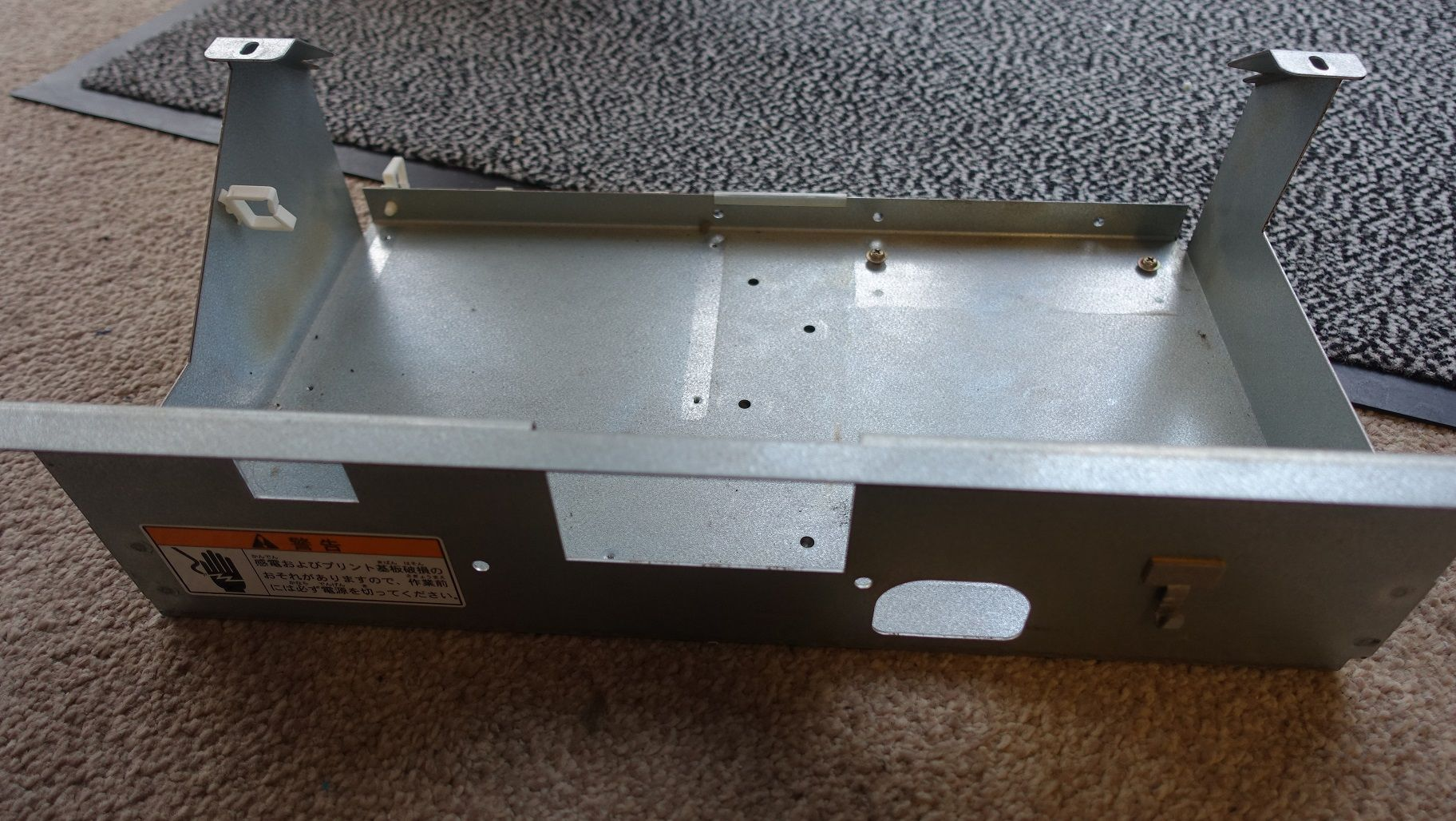 METAL TRAY ELEC BASE