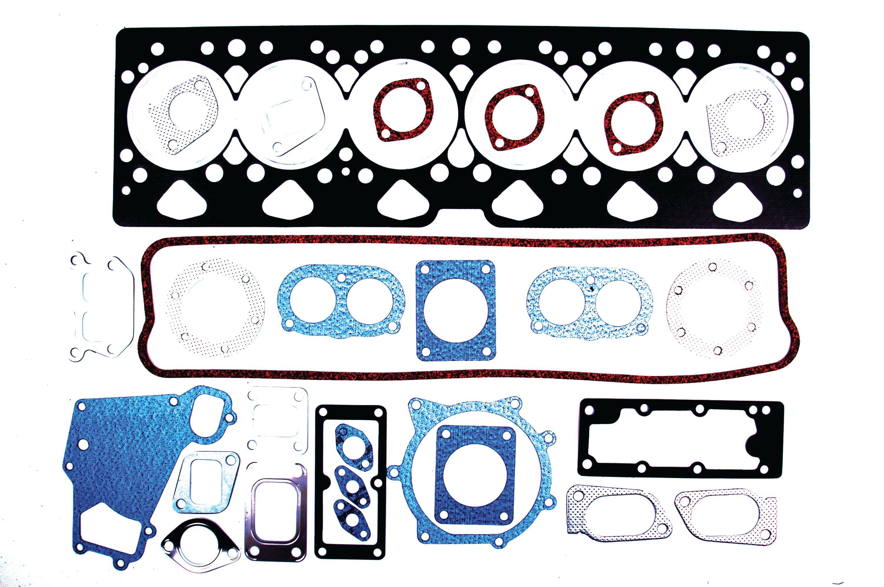 WHITE/OLIVER GASKET SET-HEAD 40601
