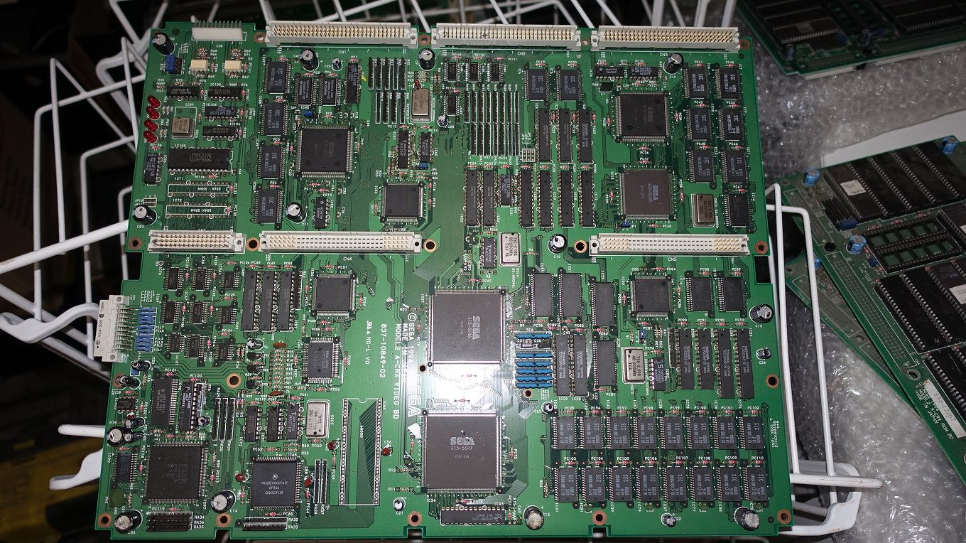 SEGA MODEL 2 CRX VIDEO BOARD SEGAMODEL2CRXVIDEOBOARD