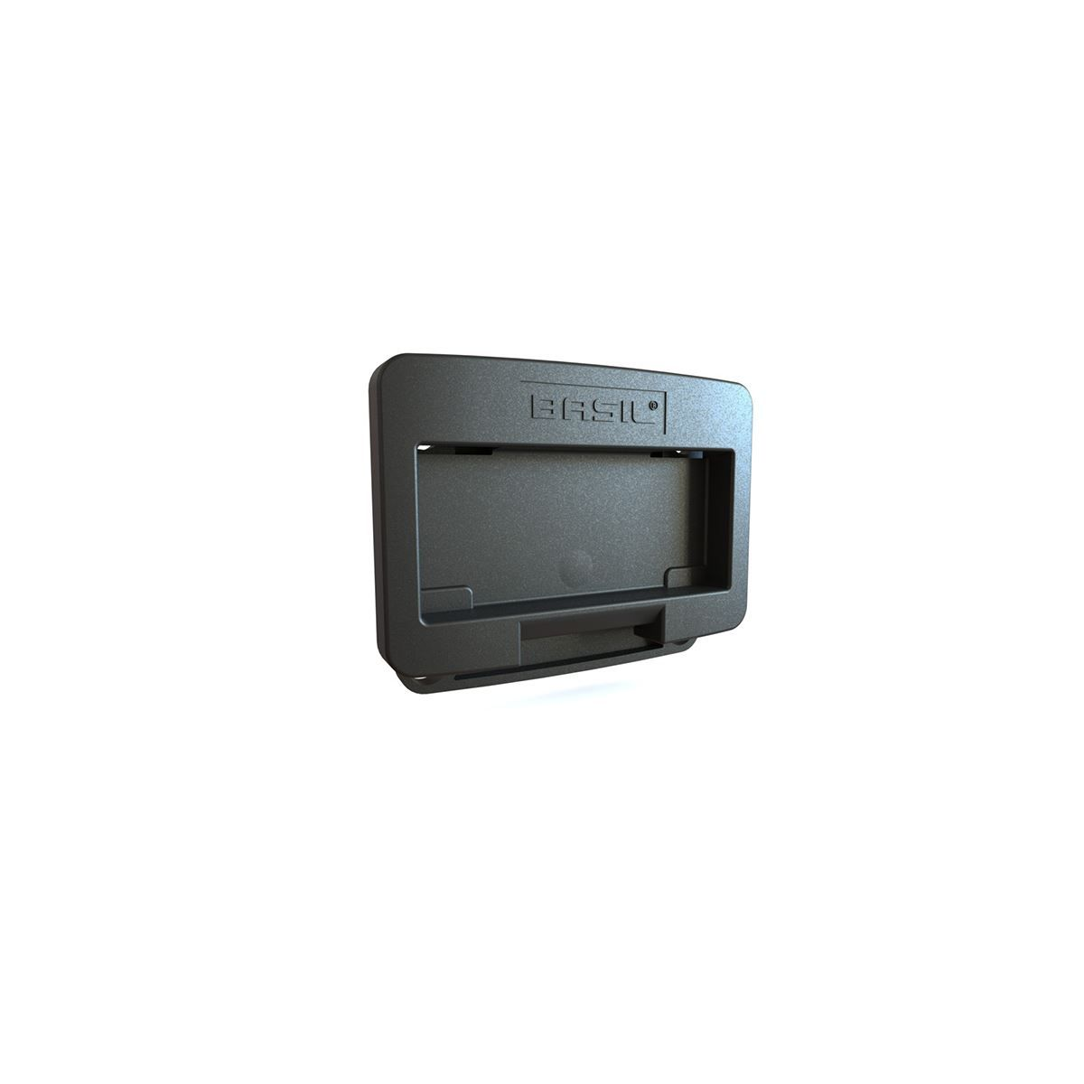 Basil Klickfix-System Adapter Plate Black: Black