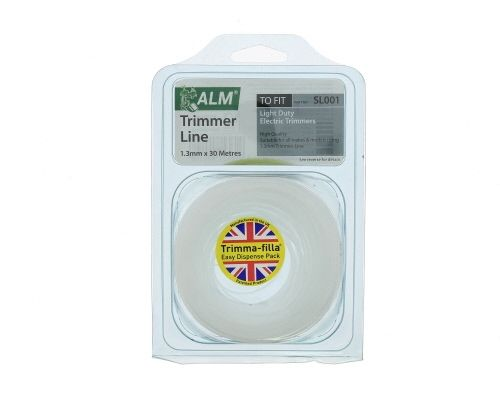 Trimmer Line: 1.3mm 30m White Round Cutting Line