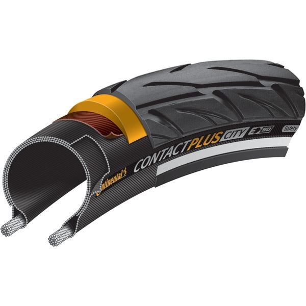 "Continental CONTACT Plus City Reflex 26 x 1.75"" black"