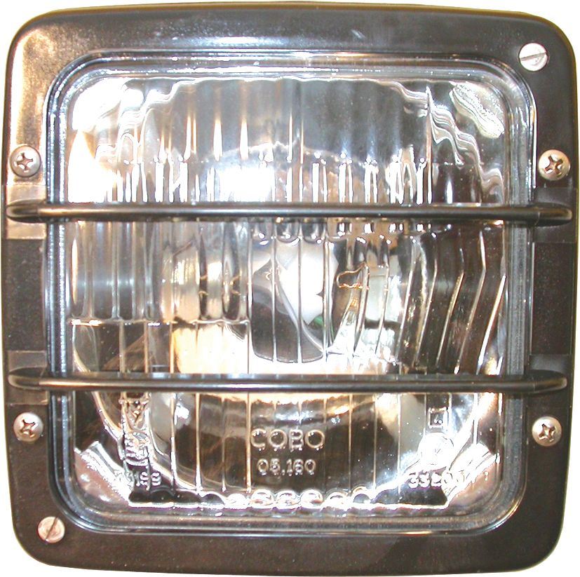 MERLO LIGHT - FLOOD WITH GRILL