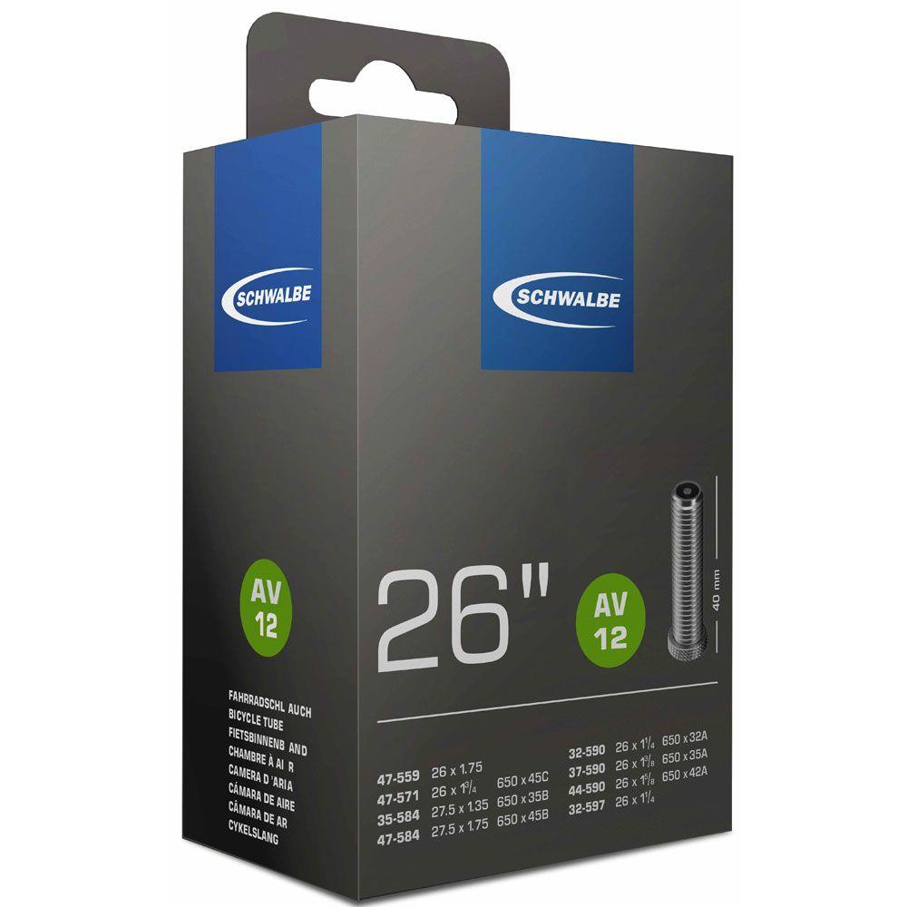 SCHWALBE AV12 26 X 1.25/1.75 SCHRADER 40MM SCT050