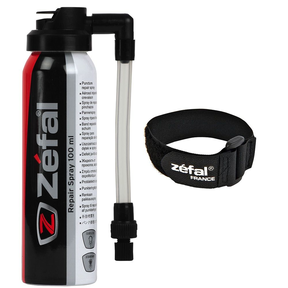 ZEFAL PITSTOP REPAIR SPRAY 100ML WITH FRAME MOUNT ZPR45N