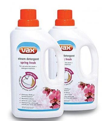 Vax Steam Detergent Spring Fresh 2 x 1 Ltr 82097