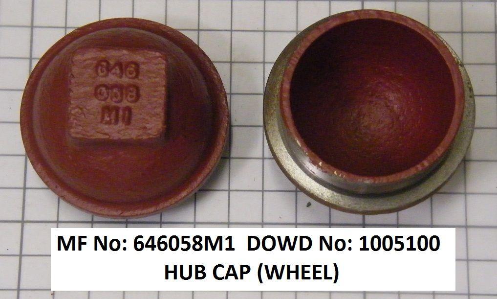 Massey Ferguson CAP Part No:646 058 M1