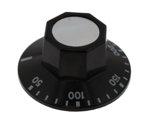 Knob: Cooker: 6mm 0c - 250c: Ego 524.820 86120