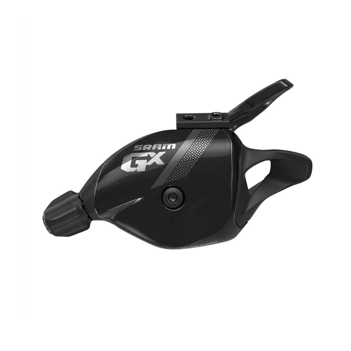 Sram Shifter Gx Trigger 10 Speed Rear W Discrete Clamp Black: Black 10 Speed
