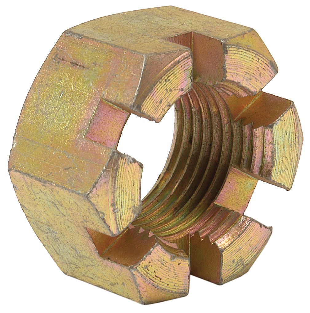 """JOHN DEERE NUT-CASTLE-1""""UNF 12973"""