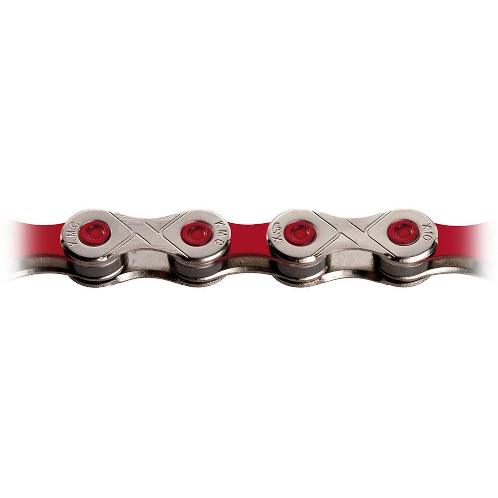 KMC X11 VIVID RED CHAIN 118L K103R