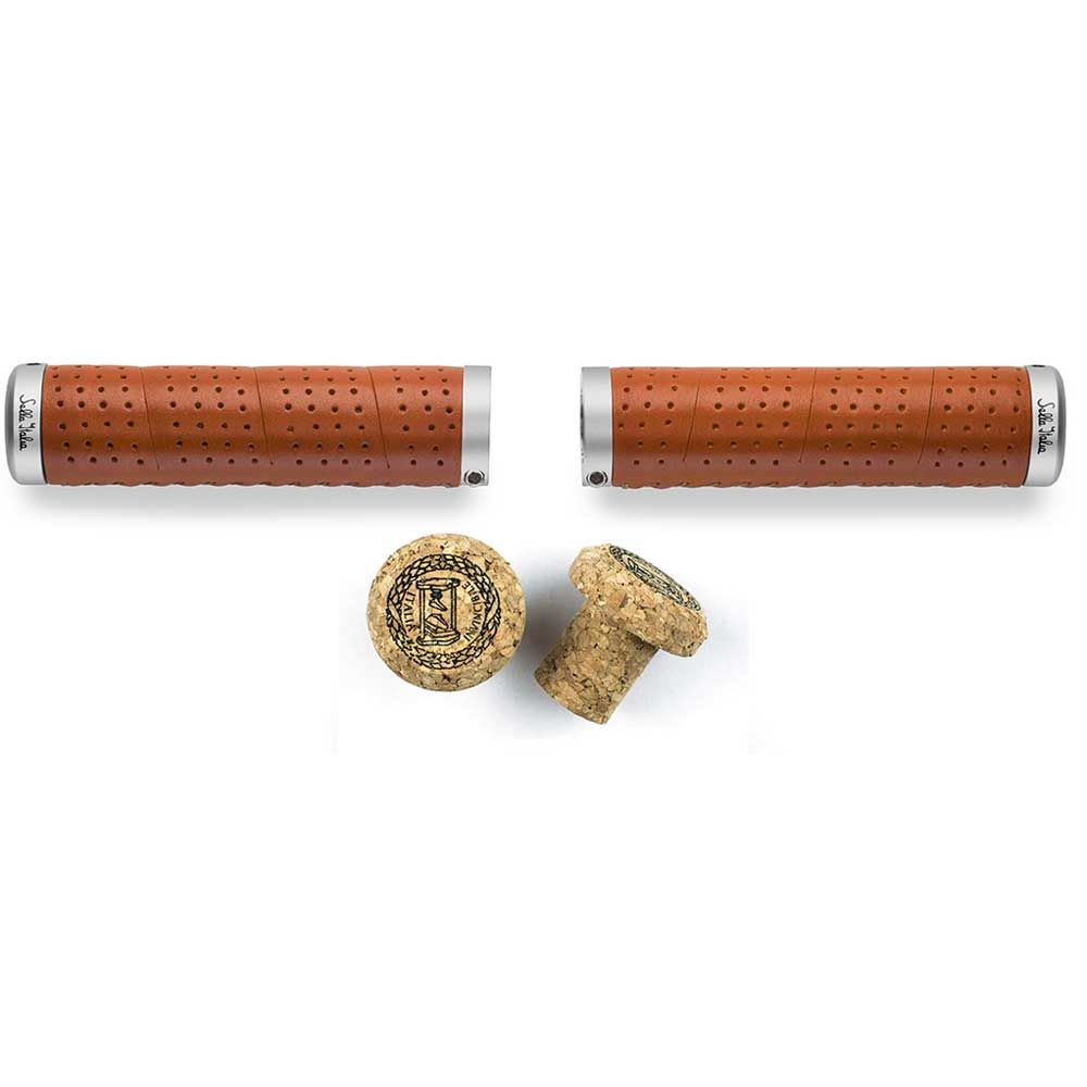 SELLA ITALIA ERTENA LEATHER GRIPS TAN