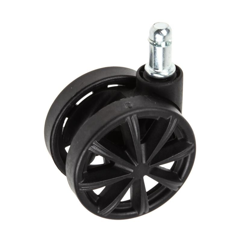 AK RACING SET OF 5 SPARE WHEELS - BLACK AK-WHEEL