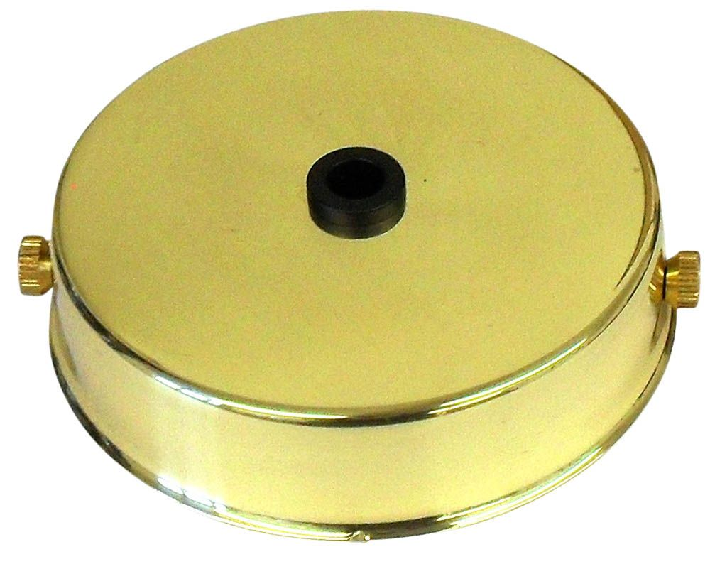 Ceiling Rose Polished Brass for Metalbrite Pendant 85mm x 21mm L2C30.05480